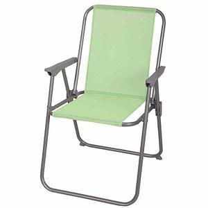 GARDAMO Camping Stuhl Piccolo, limetteStahl, Bezug 1x1