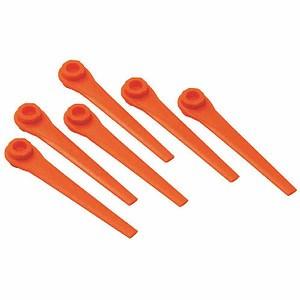 GARDENA Ersatzmesser für Trimmer accuCut, 20 Stück auf Blister