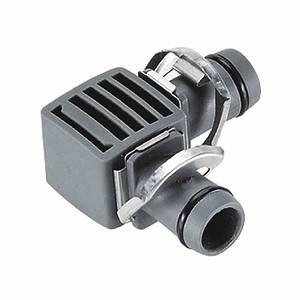"GARDENA L-Stück 13mm (½"") 2 Stück, ""Micro-Drip-System"",Quick & EASY"