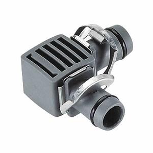 "GARDENA L-Stück 5mm (3/16"") 10 Stück, ""Micro-Drip-System"",Quick & EASY"