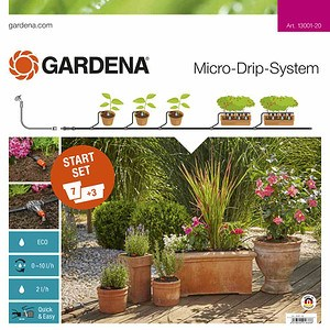 GARDENA MDS Start-Set Pflanztöpfe M, M