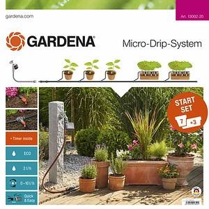 GARDENA MDS Start-Set Pflanztöpfe M mit Automatik, M mit Automatik