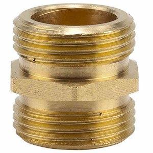 GARDENA Messing-Doppelgewinde-Nippel, 26,5mm (G 3/4)