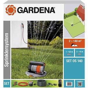 GARDENA Sprinklersystem Komplett-Set, mit Regner OS140