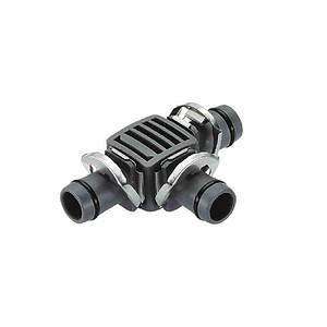 "GARDENA T-Stück 13mm (½""), ""Micro-Drip-System"", Quick&EASY, 2 Stü"