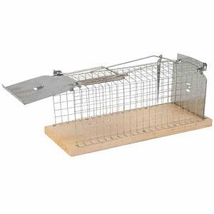 GARDIGO Gardigo Ratten-Lebendfalle Käfig, mit Handgriff für einfache Einstellu