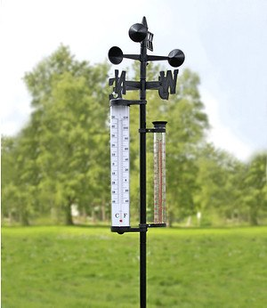 GHZ Matra AG Wetterstation groß mit Regenmesser,1 Stück