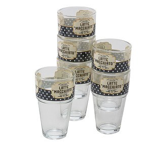 Gläser-Set, 6-tlg. Style Macchiato