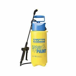 GLORIA Drucksprühgerät Spray & Paint,, Füllinhalt 5,0 L / Gesamtvolumen 7,0 L