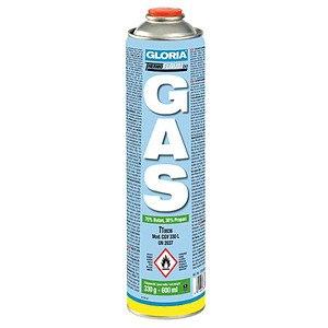 GLORIA Gaskartusche Thermoflamm (330 g, 600ml),, 70% Butan, 30% Propan