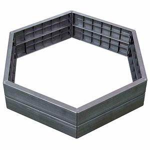 GRAF ERGO-Hochbeet-System, inkl. Steckverbinder, Kunststoff, H 25cm, 6er Se