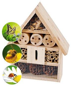 Harms Import & Vertriebs GmbH Insektenhotel 25x30x10 cm,1 Stück