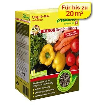 Hauert Hauert Biorga Gemüsedünger-Sphero-Granulat,1,5 kg