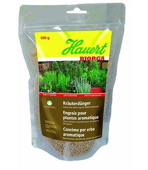 Hauert Hauert Biorga Kräuterdünger,0,5 kg Stehbeutel