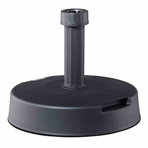 HELCOSOL Betonständer 20 kg, anthrazit Kunststoffrohr 21-54 mm