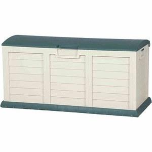 H.G. Kissenbox Jumbo XXL grün/beige, Kunststoff