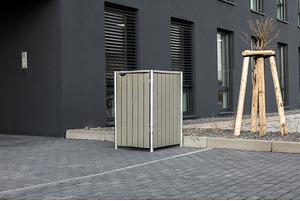 Hide Mülltonnenboxen Mülltonnenbox 140l Holz1er Box, 60,4x 63,4x 115,2 cm (BxTxH)