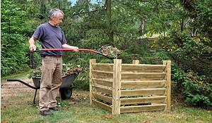Holzkomposter 100 x 100 x 80cm