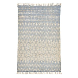 IMPRESSIONEN living Teppich Blau160x90 cm