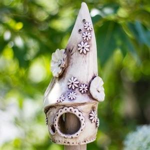 Insektenhotel, klein 21cm, aus Keramik