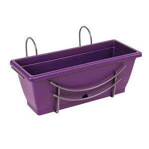 JARDIFER Komplett-Set Baby mit Halter, violett, 30cm