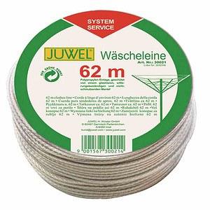 JUWEL Wäschespinnen-Leine, Länge 62m