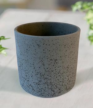 "Keramik-Übertopf ø 13 cm ""schwarz"",1 Stück"