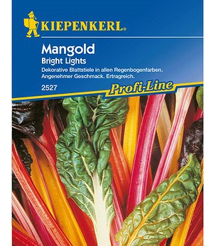 "Kiepenkerl Mangold ""Bright Lights"",1 Portion"