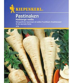 Kiepenkerl Pastinaken 'Halblange weiße',1 Portion