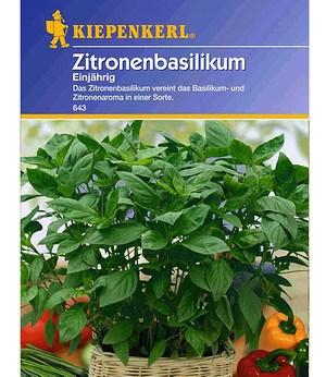 Kiepenkerl Zitronen-Basilikum,1 Portion