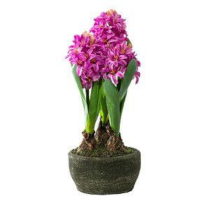 Kunstpflanze Hyazinthe Pink