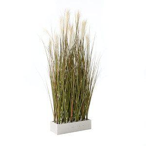 Kunstpflanze Raumtrenner-Gras