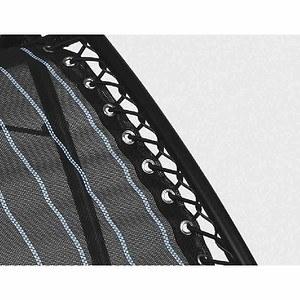LAFUMA Gummischnüre mit Endkappe, Farbe schwarz, zur Befestigung des Textils