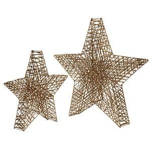 LED-Deko-Objekt Glamour Stars groß
