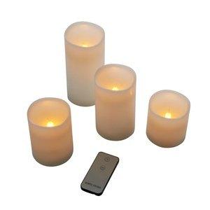 LED-Kerzen-Set, 4-tlg.