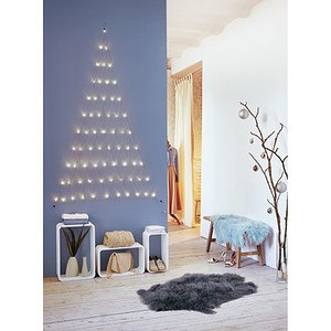 LED-Vorhang Tannenbaum