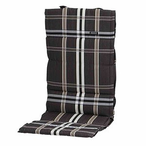 MADISON Auflage für Sessel hoch, Nilstaupe, dünne Ausführung, 100% Polyacryl