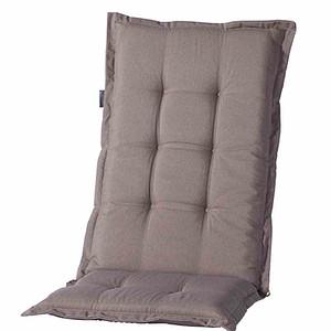 MADISON Auflage für Sessel hoch, Panama taupe, 75% Baumwolle 25% Polyester