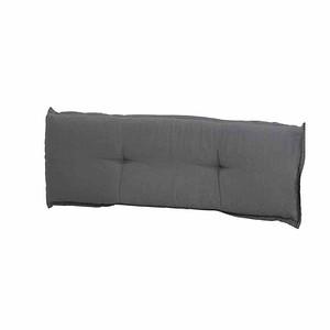 MADISON Bankauflage 140 cm, Panama grau, 75% Baumwolle 25% Polyester