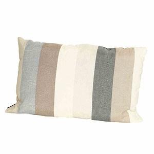 MADISON Victoria taupe Zierkissen 40x675% Baumwolle 25% Polyester