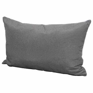 MADISON Zierkissen 40x60 cm, Panama grau, 75% Baumwolle 25% Polyester