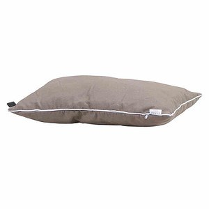 MADISON Zierkissen 40x60 cm, Panama taupe, 75% Baumwolle 25% Polyester