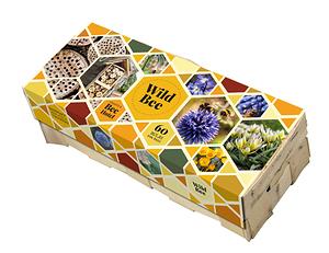 Mein schöner Garten Wildbienenhotel mit 60 Blumenzwiebeln