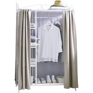 miaVILLA Kleiderschrank Air Weiß/Taupe