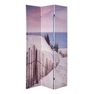 miaVILLA Paravent Strand Bunt 120 x 180 cm