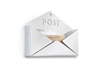 miaVILLA Wandablage Post Weiß
