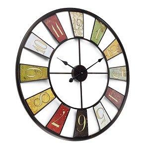 miaVILLA Wanduhr Wheel 80 cm