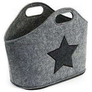 miaVILLA Zeitungsständer Star Grau