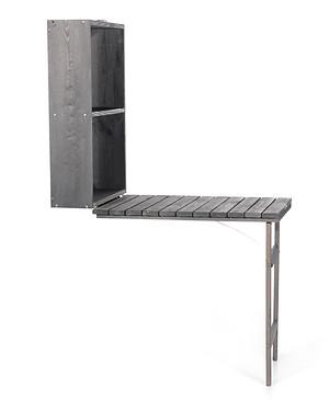 myGardenlust Balkon Tisch klappbar anthrazit