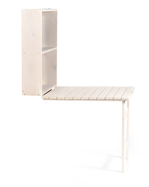 myGardenlust Balkon Tisch klappbar weiß